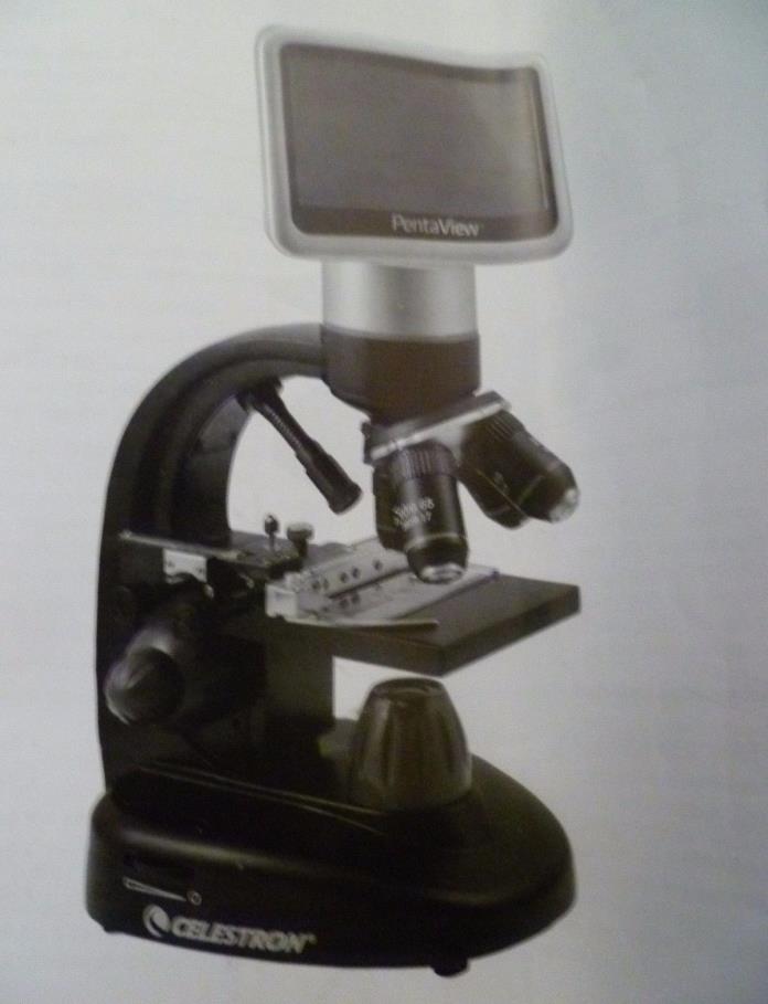 Celestron 44348 PentaView LCD Digital Microscope case accessories