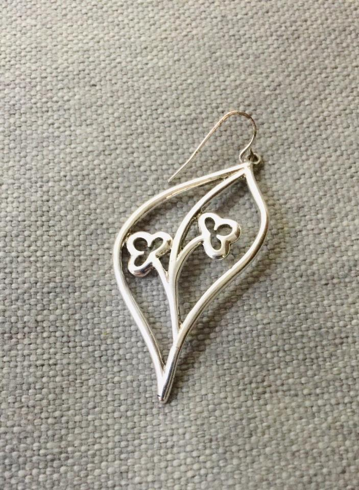 Vintage Single Silver Earring