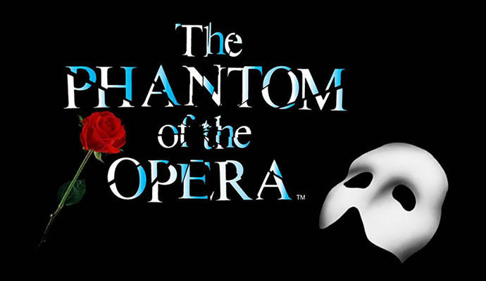 2 TIX THE PHANTOM OF THE OPERA SECOND TIER ROW G 5.20 @ SACRAMENTO COMM THEATRE