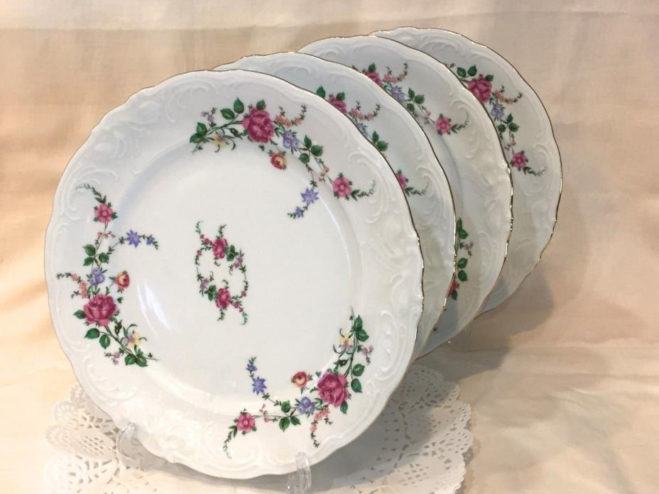 4- Dinner Plates Royal Kent China Collection -Made in Poland - RKT23