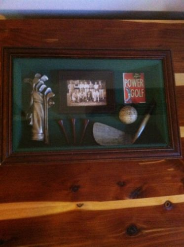 Golf Shadow Box - Ben Hogan's Power Golf. Last Chance!