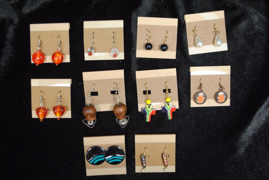 Earrings Wholesale lot 23 Pair Mixed