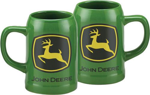 Green John Deere 16.9oz Stoneware Mug