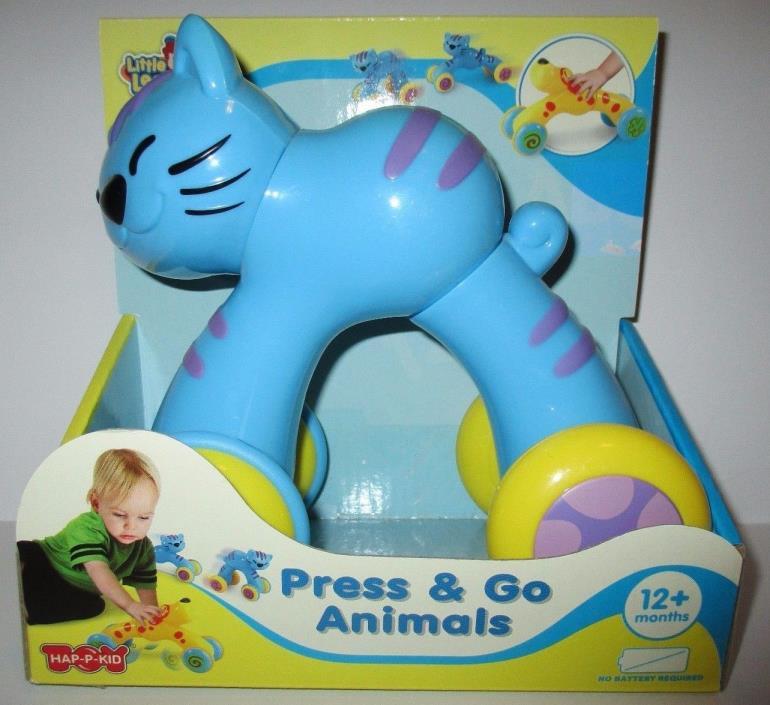 Press & Go Animals CAT Hap P Kid Little Learner NIB 12+ Months