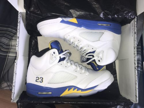2013 Air Jordan 5 Laney Size 11 WORN ONCE