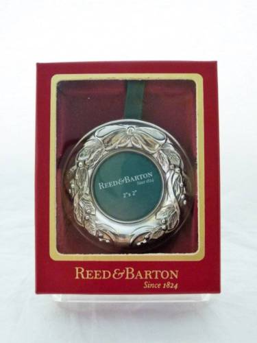Reed & Barton Sterling Silver 2x2 Ornament Picture Frame NIB