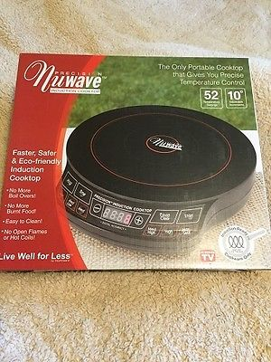 PRECISION  NUWAVE  #30121  INDUCTION  COOKTOP!   BRAND  NEW!