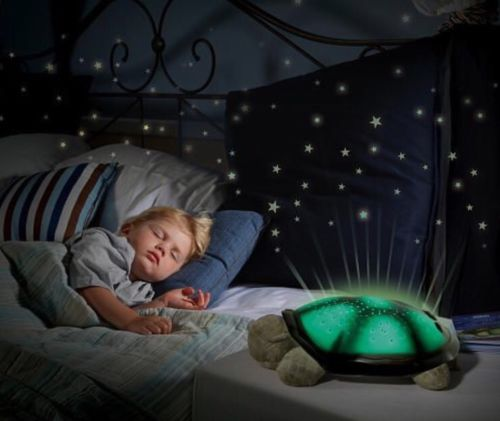 Cloud B Twilight Turtle Night Light Constellation Stars Projector Green Brown