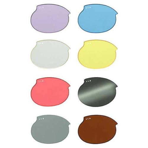 Doggles ILS Replacement Dog Sunglass Lenses Medium Clear DLMD29