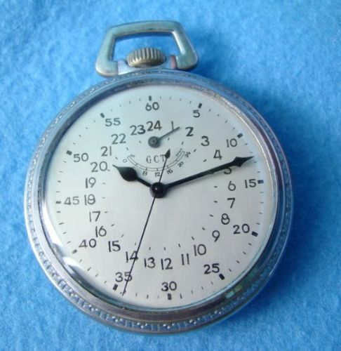LONGINES 21 JEWL MILITARY GCT POCKET WATCH