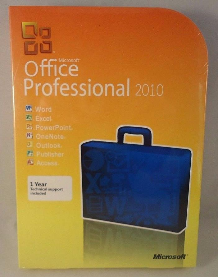 microsoft office 2010 professional full retail for sale classifieds. Black Bedroom Furniture Sets. Home Design Ideas