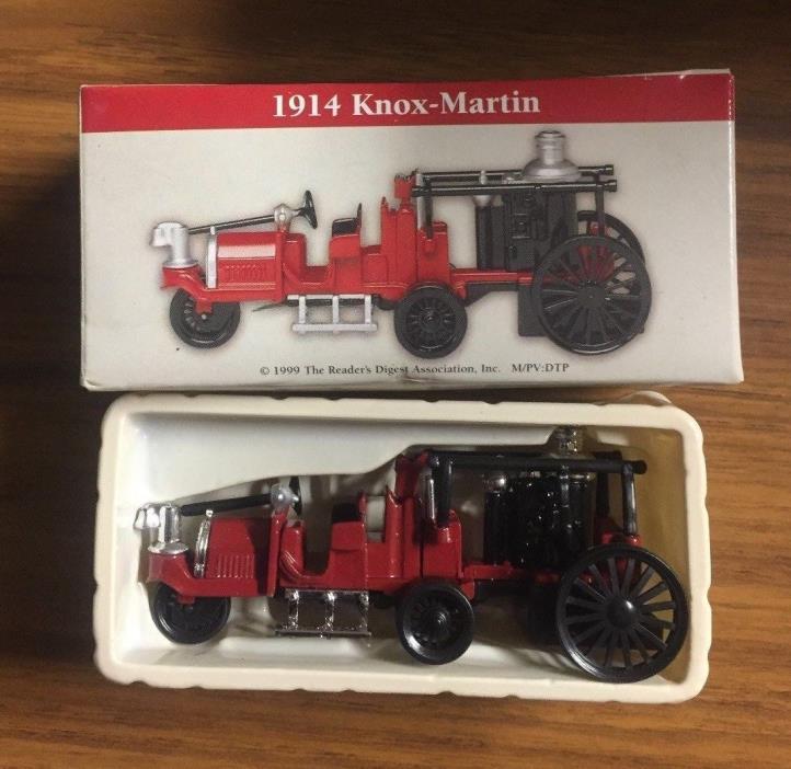 Vintage Boxed 1999 1914 Knox-Martin Miniature 3-3/4