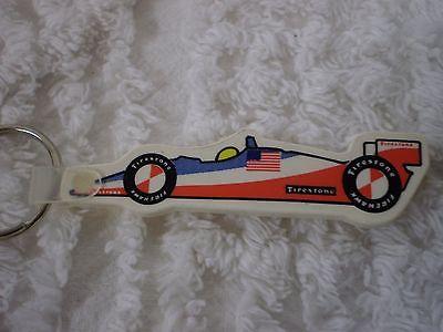 Firestone Tires Indy Car Keychain