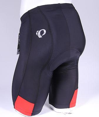 Pearl Izumi Quest Splice Men's Cycling Shorts Black/Red, Size Small