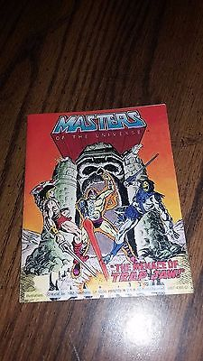Masters of the Universe Mini Comic The Menace of Trap-Jaw