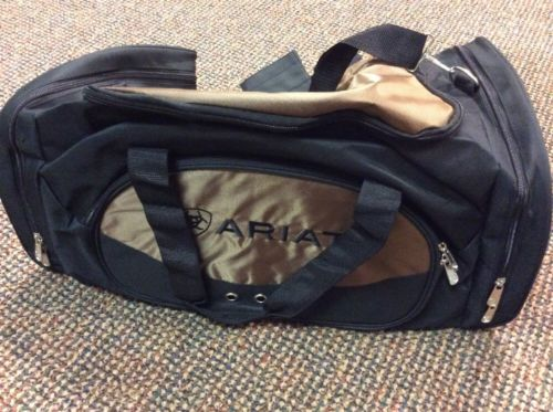 Ariat Duffle Bag Great gear bag or Travel NEW - Black & Gold - Free Delivery