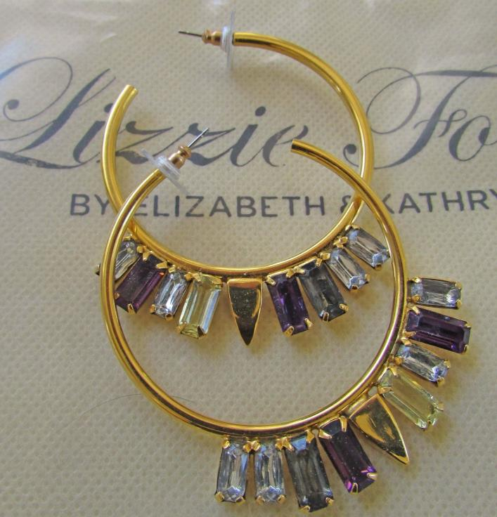 Lizzie Fortunato The Paris Confidential  Earrings