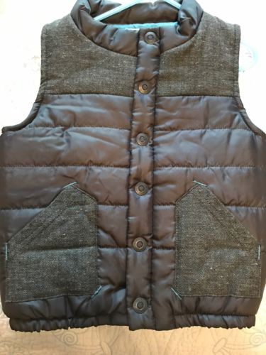 Genuine Kids Size 4T Brand New Vest With Tags Quilted