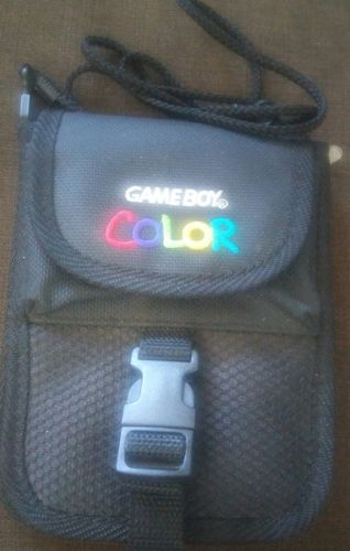 Nintendo Gameboy Color Carrying Case/bag (AUTHENTIC)