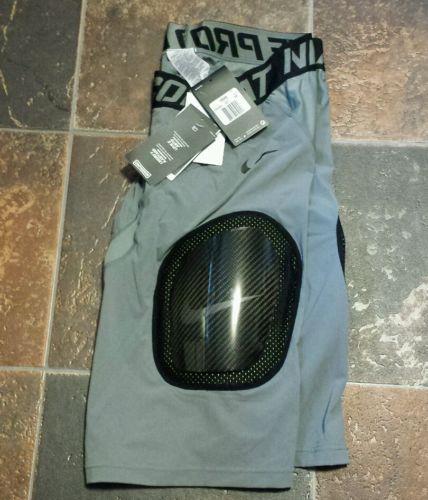 Nike Pro Combat Hyperstrong 3.0 Hardplate Padded Football Shorts Large 4XL Gray
