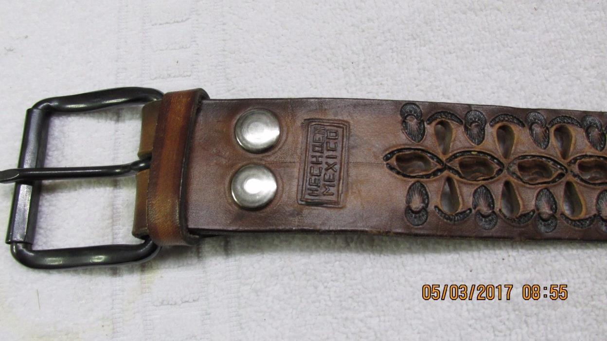 HECHO EN MEXICO SIZE 36 Genuine Leather Belt
