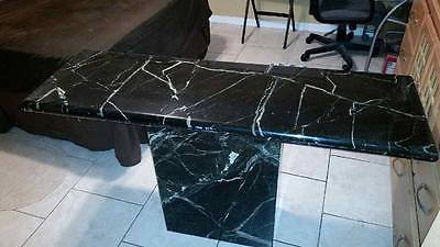 solid marble breakfast table