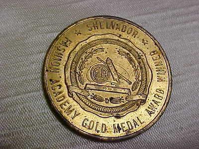 1950's Crosley Shelvador Refrigerator Good Luck Token Coin Fashion Academy logo