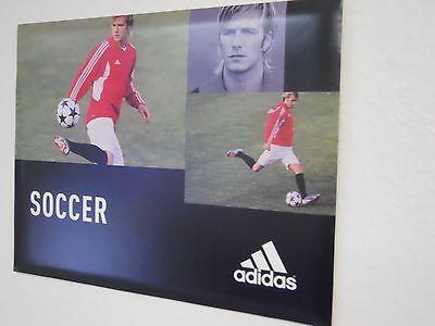 Adidas David Beckham Sign  9 inches x 12 inches Circa 2003-2004