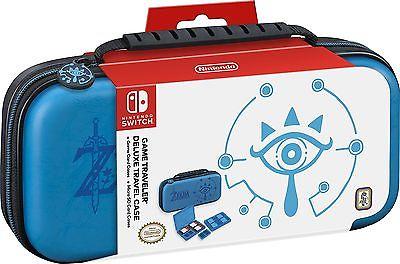 RDS Industries Inc Nintendo Switch Game Traveler Deluxe Travel Case, Zelda, New