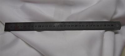 ruler 12 inch  New Stainless 12 Inch Ruler Metric SAE Hole Free Shipping USA