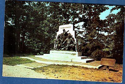 Postcard, Civil War, Gettysburg, Alabama Memoial