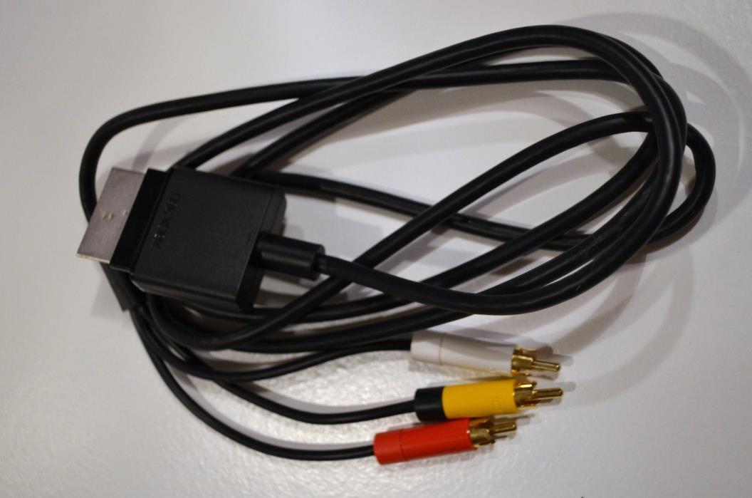 XBOX 360 Genuine OEM RCA cable