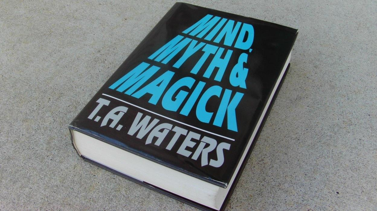 Mind, Myth, and Magick by T.A. Waters Mentalism Vintage Magic Trick Book Mental