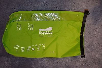 SCRUBBA Wash Bag-Portable Laundry-Camping, Hiking, Travel NWOT