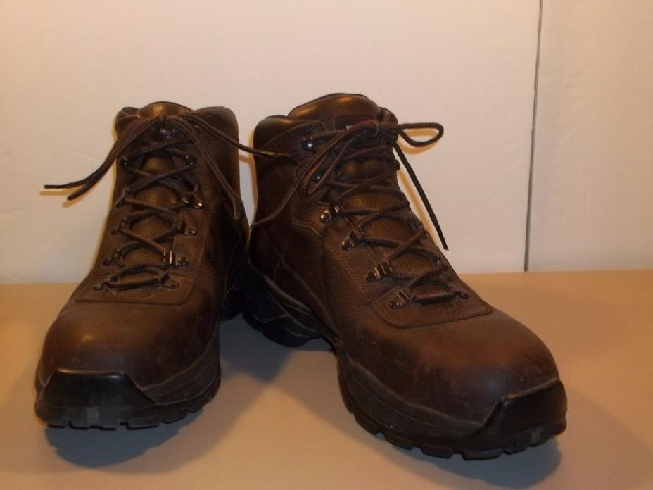 Mens Boots Red Wing Shoes 6681 Size 13 D Leather Steel Toe Waterproof T27 M7030