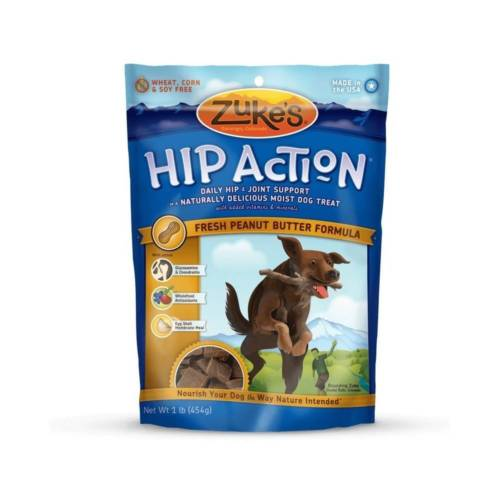 Zuke's Hip Action Treats with Glucosamine Peanut Butter 1 lbs. Z-21022
