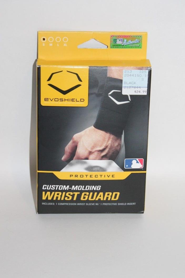 EvoShield Custom Molding Wrist Guard Sleeve w/ Shield Black S 2044150.100.S