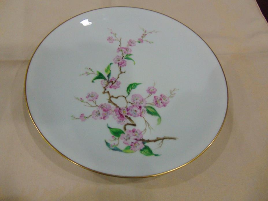 Lot of 4 H& C Selb Bavaria Heinrich Blossomtimes Dinner Plates 10 1/2