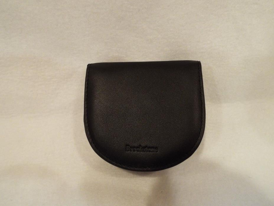 Brookstone Leather earbud holder