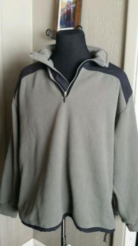 Nike Golf Tiger Woods Cypress Shield 1/2 Zip Golf Pullover sz XL XLARGE