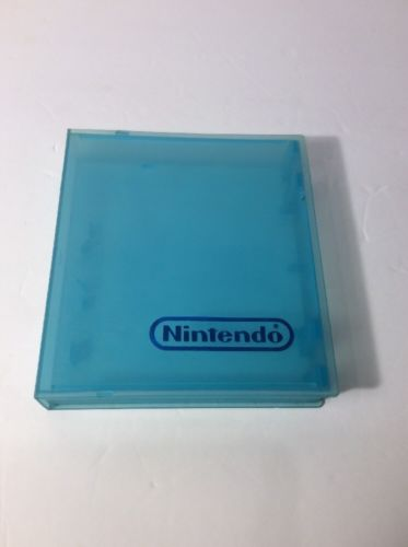 Blue - NES Original Official Nintendo Plastic Cartridge Game Case Dust Cover