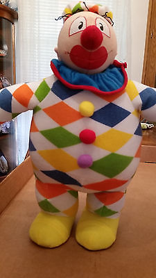 Kellytoy Popeye and Pals  Rare Wimpy clown 13.5