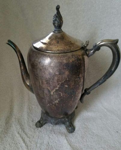 Vintage F B Rogers Silver Co Teapot Coffee Server # 2670