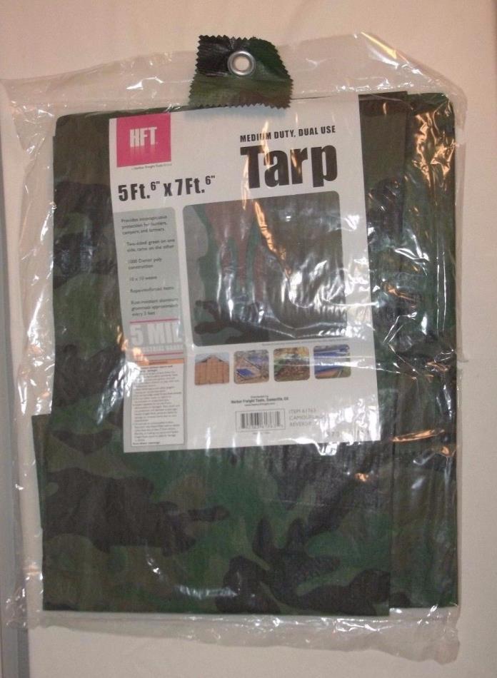 Camouflage Green Reversible 5 MIL Medium Wt 5'6