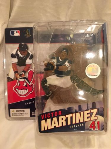 McFarlane Sports Picks MLB series 16 Victor Martinez Indians Figure Catcher