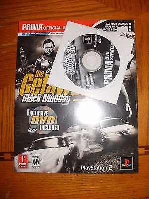 The Getaway : Black Monday by Prima STRATEGY GUIDE SONY PS2 (DVD INCLUDED)