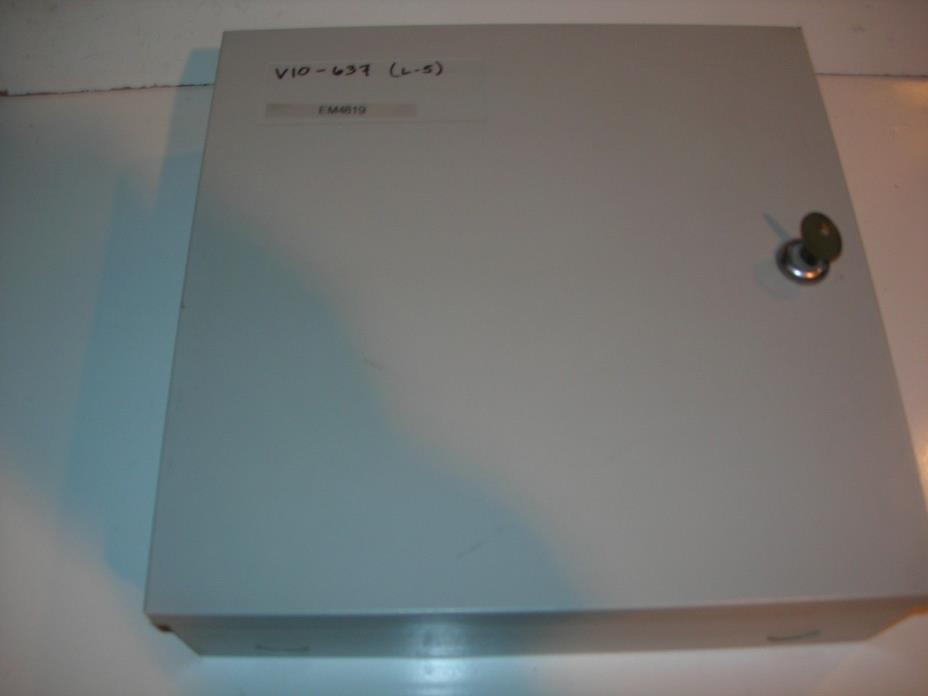 Radionics Omegalarm D4112 Alarm System Control Panel