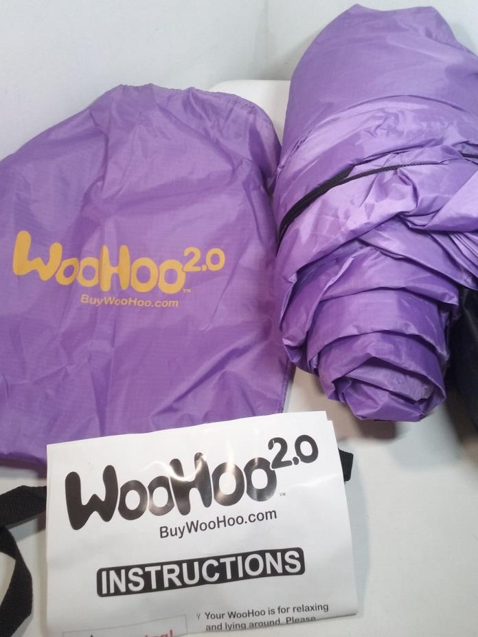 WooHoo 2.0 Giant Inflatable Lounger w/ Carry Bag Purple [MR107-WH2]