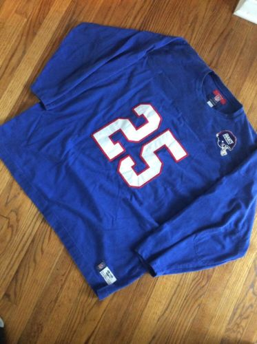Vintage NFL New York Giants Reebok Girdiorn Classic Padded Elbow Football Jersey