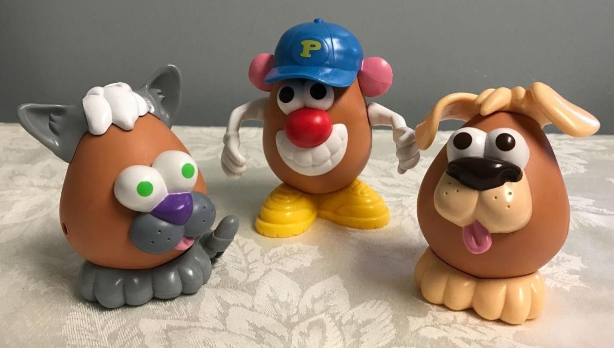 Vintage Mr Potato Head Dog Cat 4